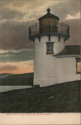 Bear Island Light House Postcard