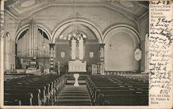 Interior View of Lutheran Church