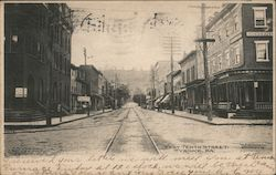West Tenth Street Postcard