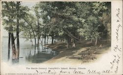The Battle Ground, Campbell's Island Postcard