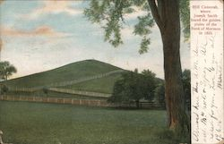 Hill Cumorah, where Joseph Smith found the golden plates of the Book of Mormon in 1823