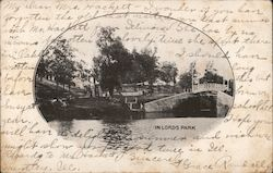 In Lords Park Postcard