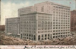 Marshall Field & Co. Store from Wabash Ave.
