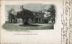 Old Davenport House, Rock Island Arsenal Postcard