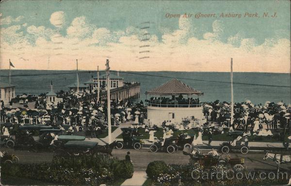Open Air Concert Asbury Park New Jersey