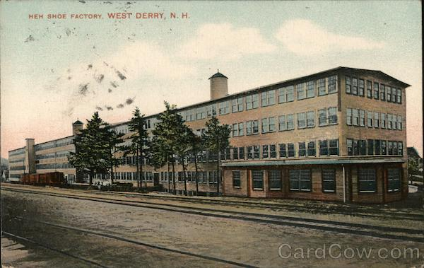 Heh Shoe Factory West Derry New Hampshire