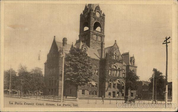 La Porte County Court House Indiana