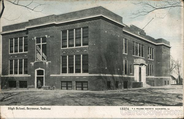 High School Building Seymour Indiana