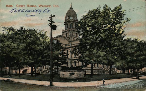 Court House Warsaw Indiana