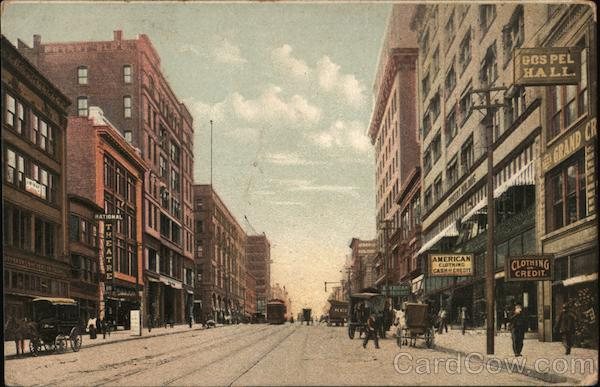 Grand Avenue North from 12th St. Kansas city Missouri