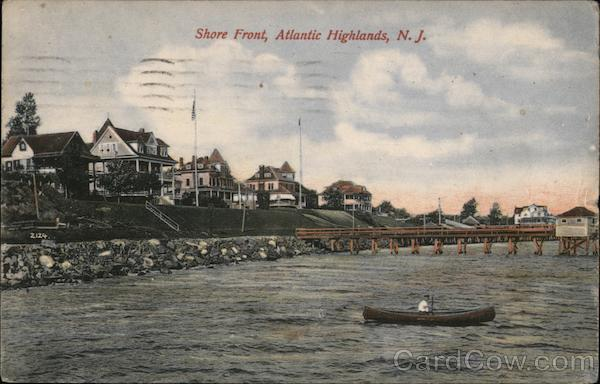 Shore Front Atlantic Highlands New Jersey