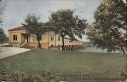 Power House and Dam From Rock Island Arsenal