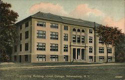 General Engineering Building, Union College Postcard