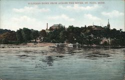 Soldiers Home from Across the River Postcard