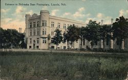 Entrance to Nebraska State Penitentiary