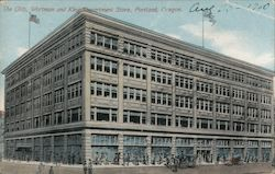 The Olds, Wortman and King Department Store Postcard