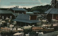 Houghton & Douglass Cotton Gin Postcard