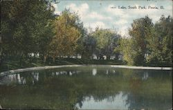 Lake, South Park Postcard