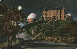 Lick Observatory by moonlight Postcard