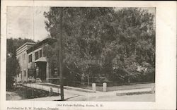 Odd Fellows Building Postcard