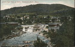 Bird's Eye View of Falls Postcard