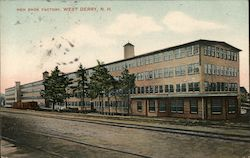 Heh Shoe Factory Postcard