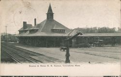 Boston & Maine R.R. Station Postcard