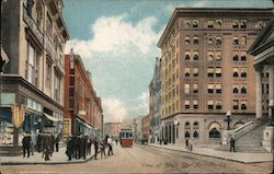 View of Main St. Postcard