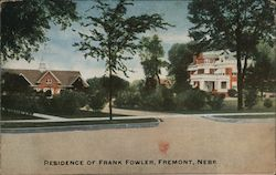 Residence of Frank Fowler