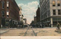Walnut Street Looking South Postcard
