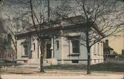 Federal Building and Post Office Postcard