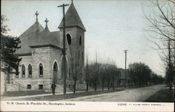 U.B. Church, E. Franklin St. Postcard