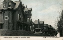 Residence Section, N. Jefferson St. Postcard