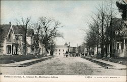 Residence Section, S. Jefferson St. Postcard