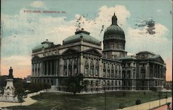 State House Postcard