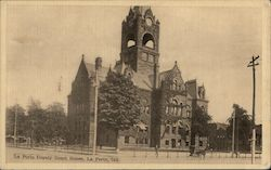 La Porte County Court House Postcard