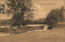 St. Joe River Postcard