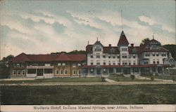 Mudlavia Hotel, Indiana Mineral Springs