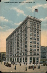 Citizens National Bank Building Postcard