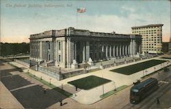 The Federal Building Postcard