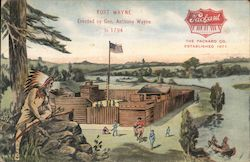 Fort Wayne Erected by Gen. Anthony Wayne in 1794