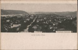 Aerial View of Madison, Indiana Postcard