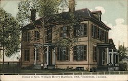 Home of Gov. William Henry Harrison