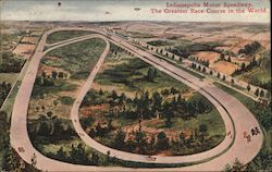 Indianapolis Motor Speedway - The Greatest Race Course in the World Postcard