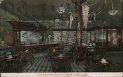 The Rose Pharmacy Postcard