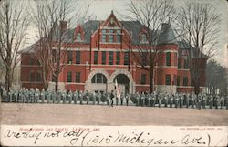 High School and Cadets Postcard