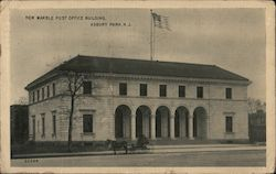 New Marble Post Office Building Postcard