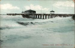 View of Fishing Pier Postcard
