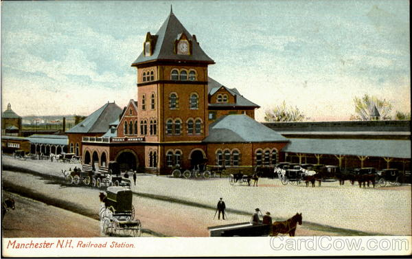 Railroad Station Manchester New Hampshire
