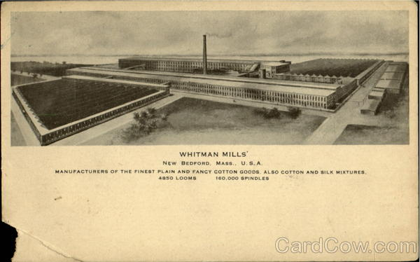 Whitman Mills New Bedford Massachusetts